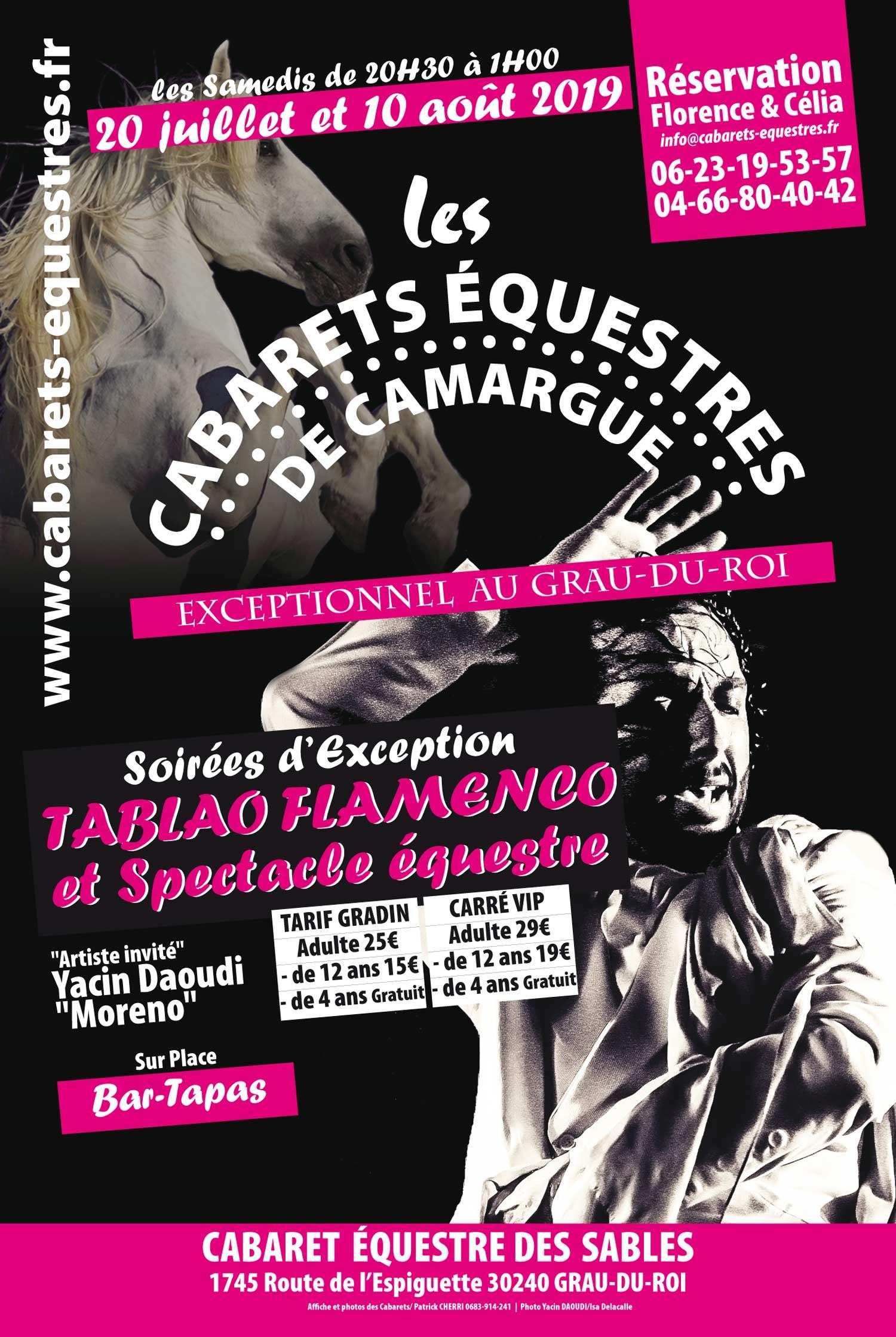 restaurant, soirée camarguaise, cabaret-equestres, flamenco, soirée gitane,